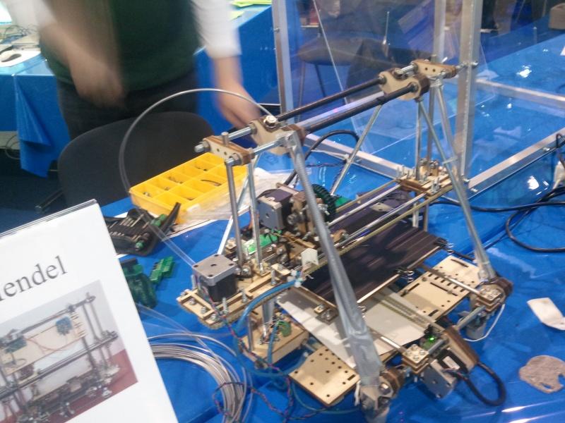 RepRap auf der Hobby & Elektronik Messe in Stuttgart