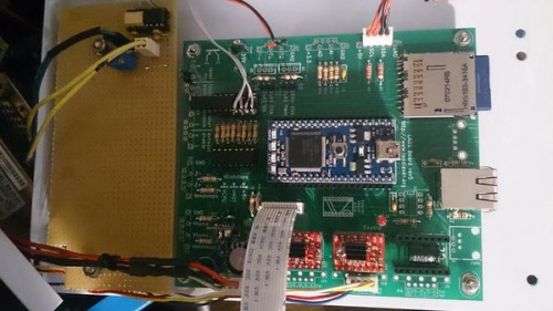 Neues Laos Steuerboard mit mbed Controller