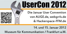 Flyer Usercon Hackerspace FFM